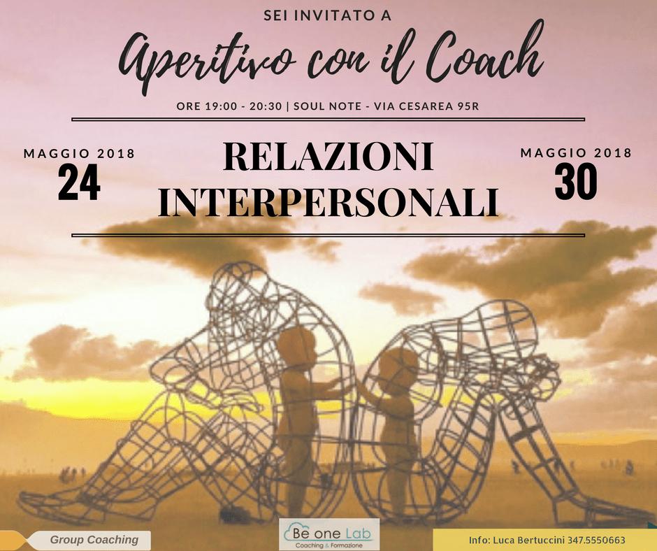 Aperitivo con il Coach - Relazioni interpersonali