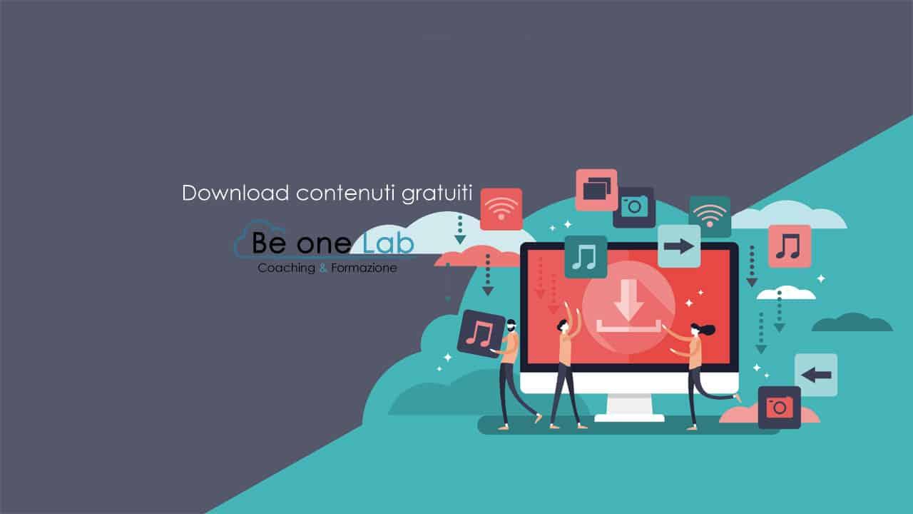 Download contenuti gratuiti Be one Lab